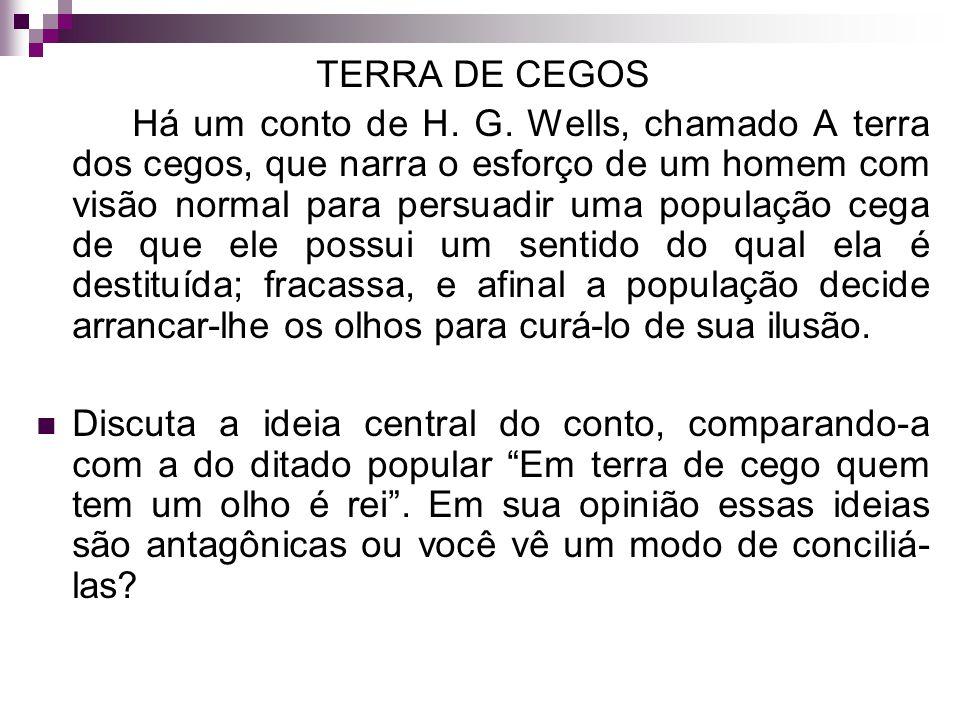 TERRA DE CEGOS