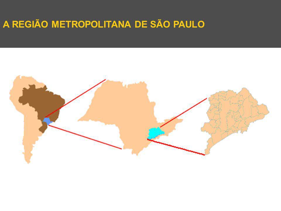 A REGIÃO METROPOLITANA DE SÃO PAULO