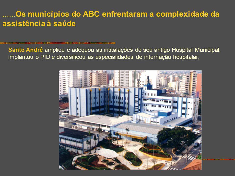 ......Os municípios do ABC enfrentaram a complexidade da assistência à saúde