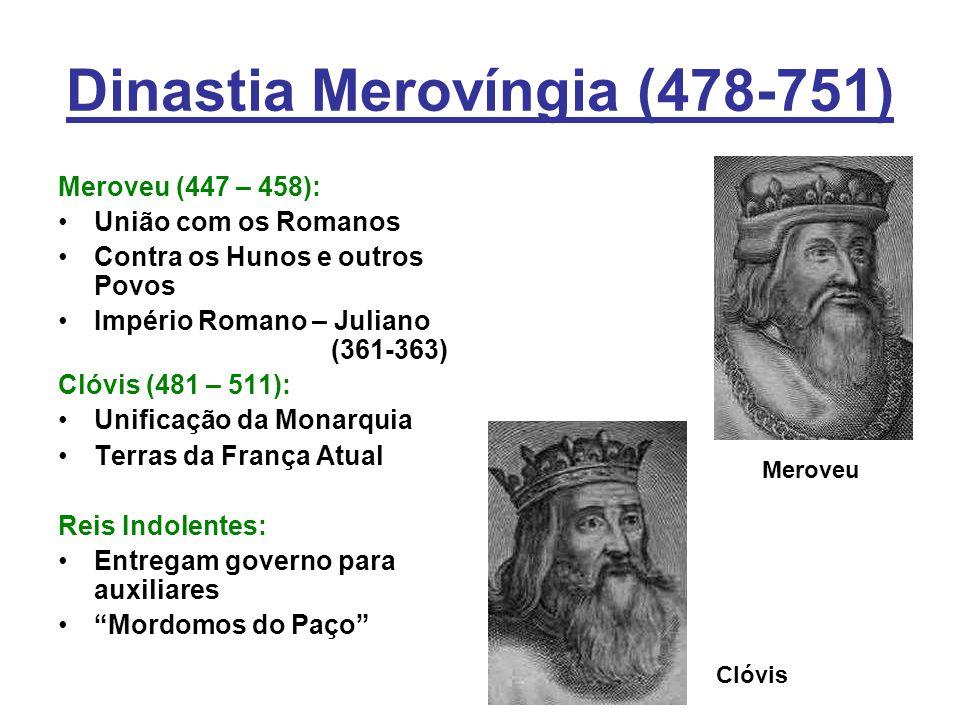 Dinastia Merovíngia (478-751)