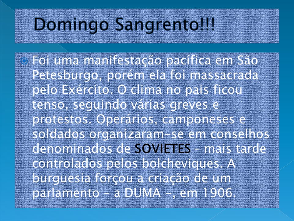Domingo Sangrento!!!