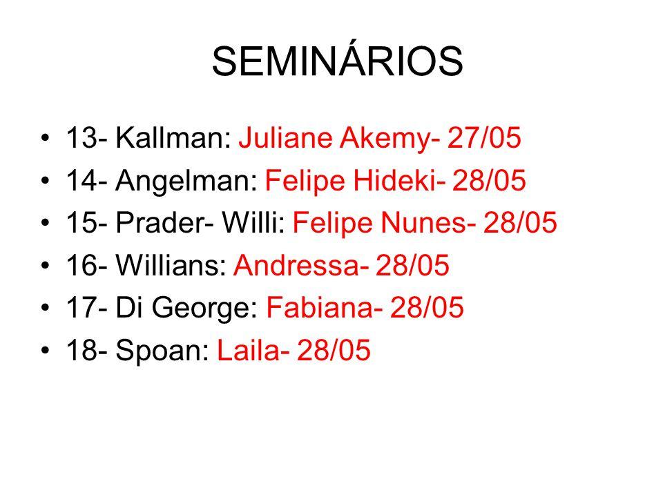SEMINÁRIOS 13- Kallman: Juliane Akemy- 27/05