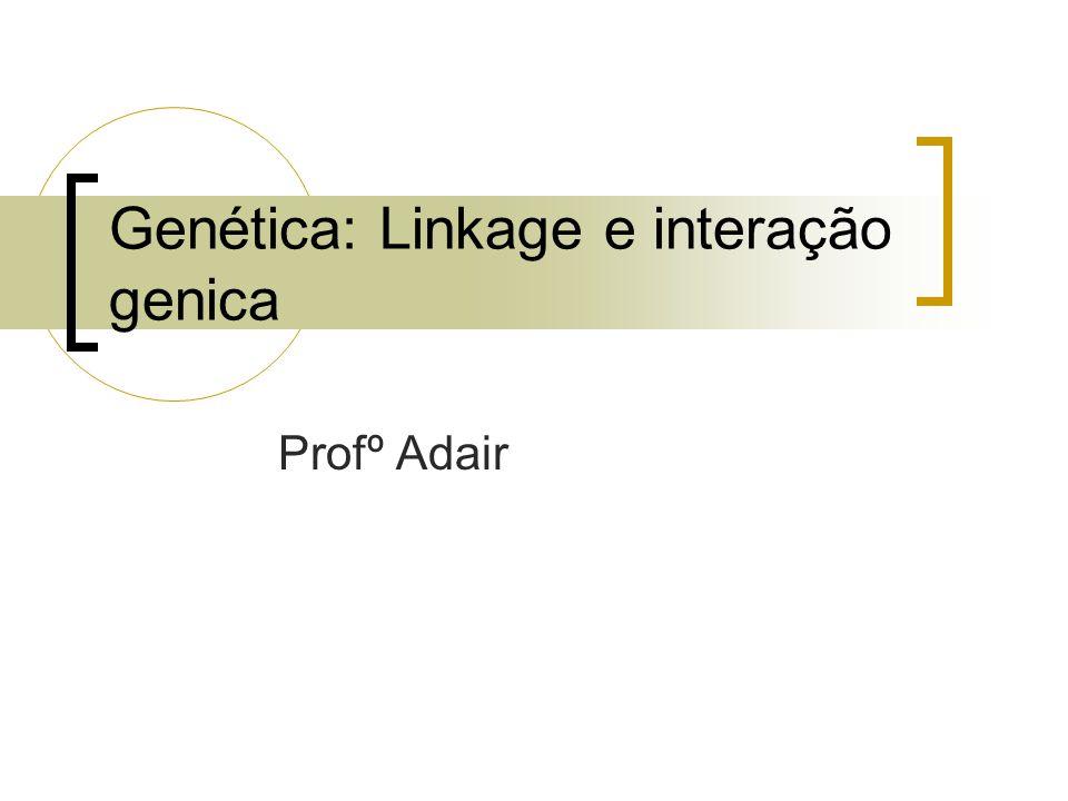 Genética: Linkage e interação genica