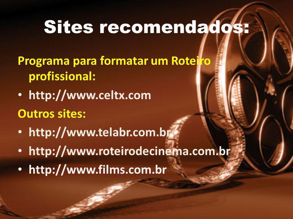Sites recomendados: Programa para formatar um Roteiro profissional: