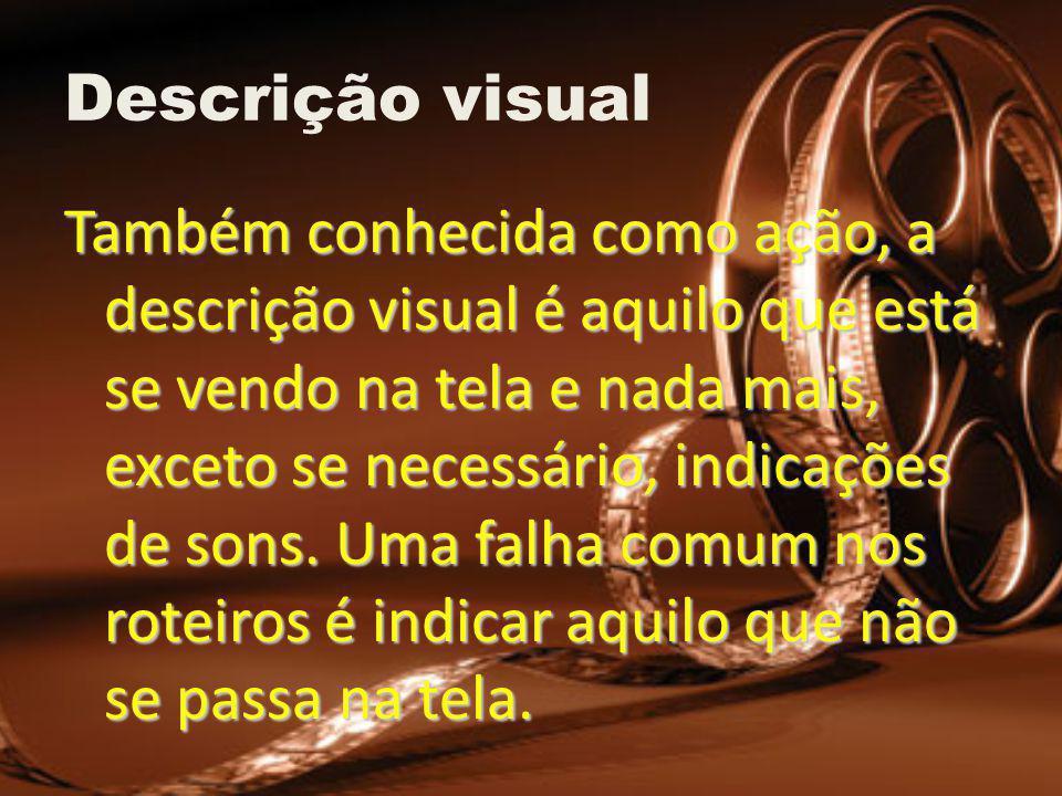 Descrição visual