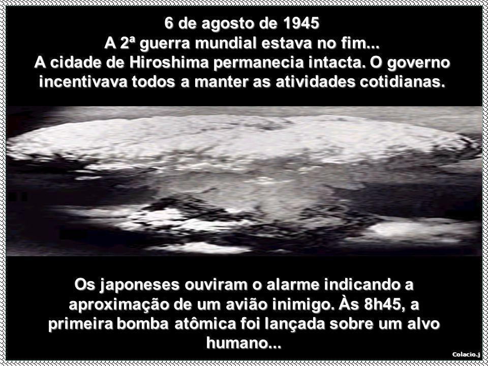 A 2ª guerra mundial estava no fim...