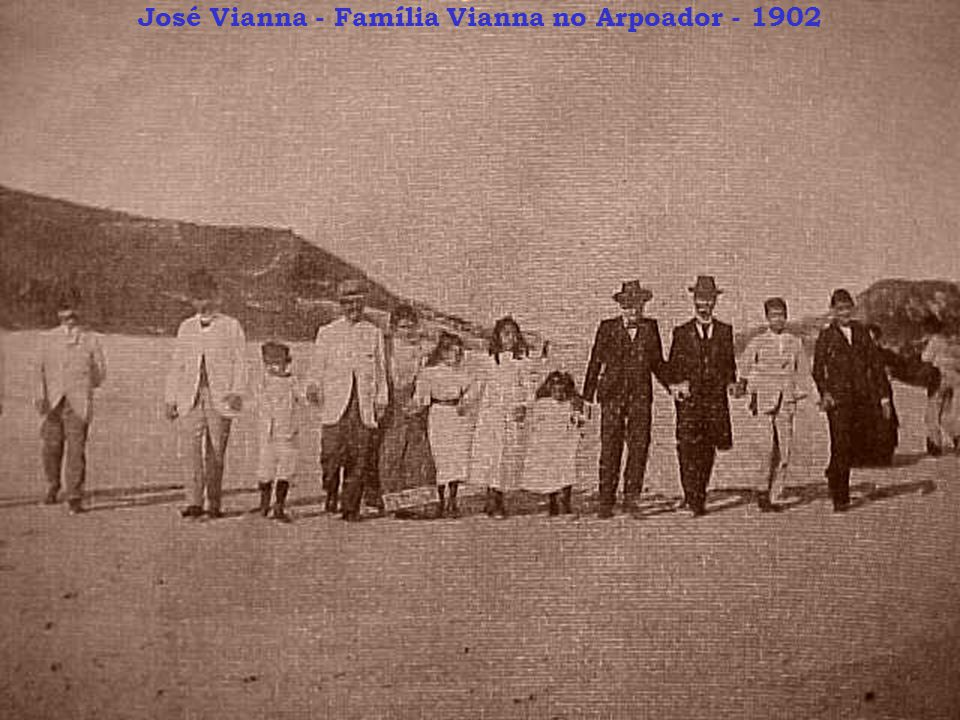 José Vianna - Família Vianna no Arpoador - 1902