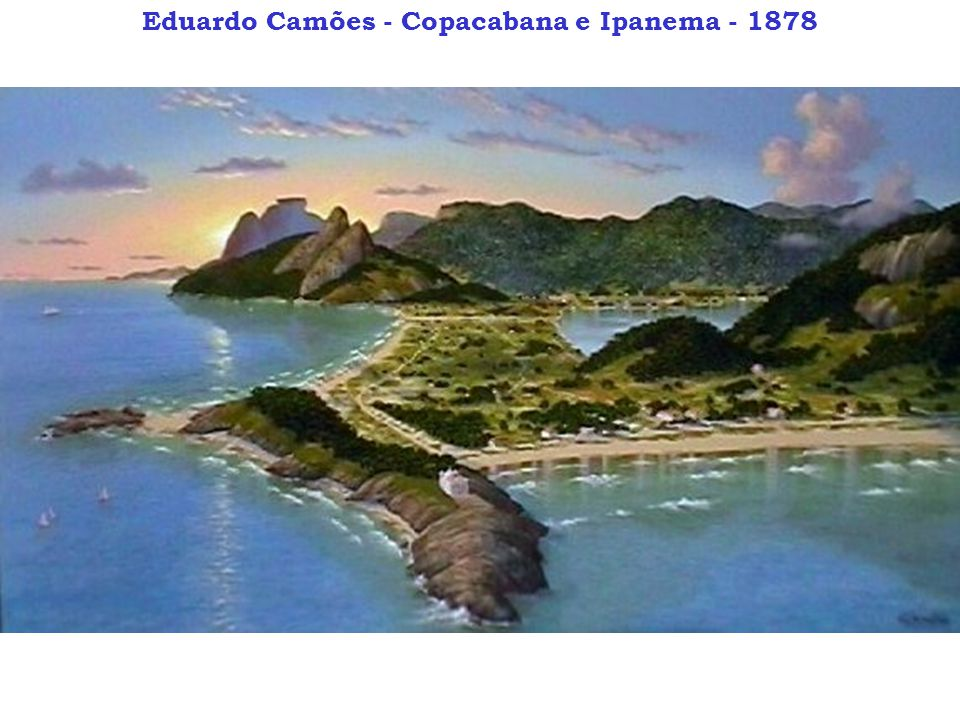 Eduardo Camões - Copacabana e Ipanema - 1878
