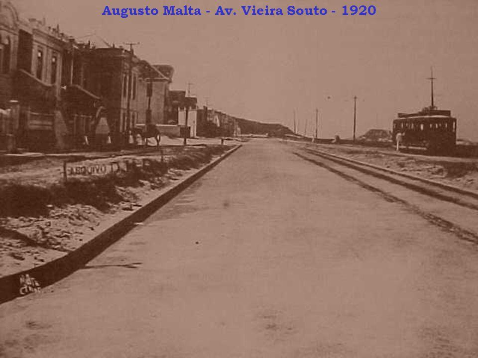 Augusto Malta - Av. Vieira Souto - 1920