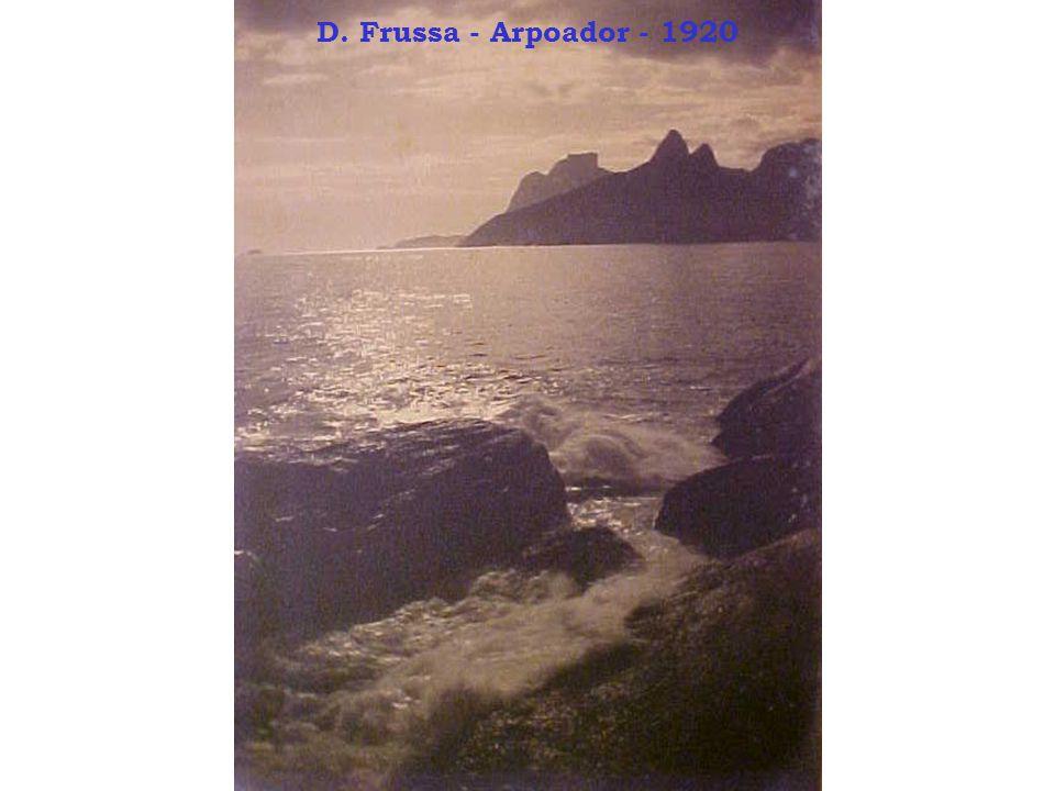 D. Frussa - Arpoador - 1920