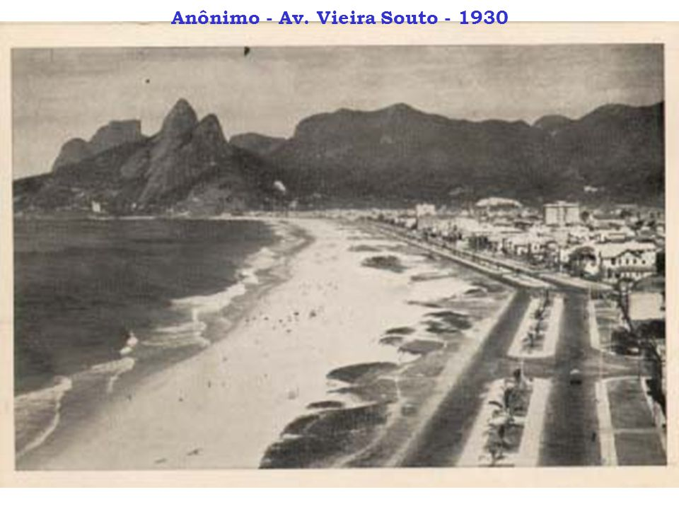 Anônimo - Av. Vieira Souto - 1930