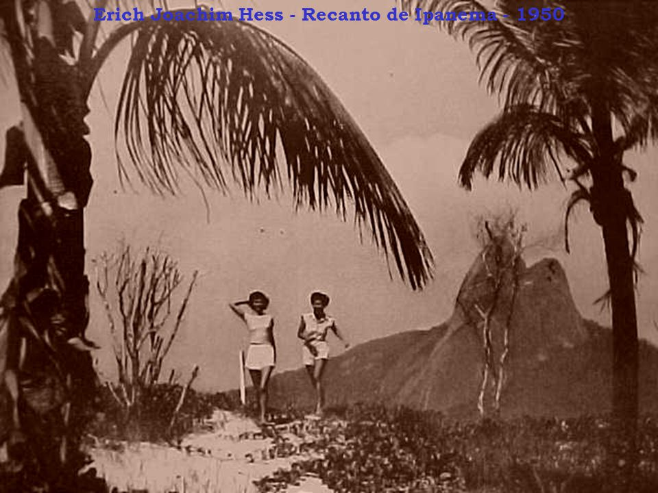 Erich Joachim Hess - Recanto de Ipanema - 1950