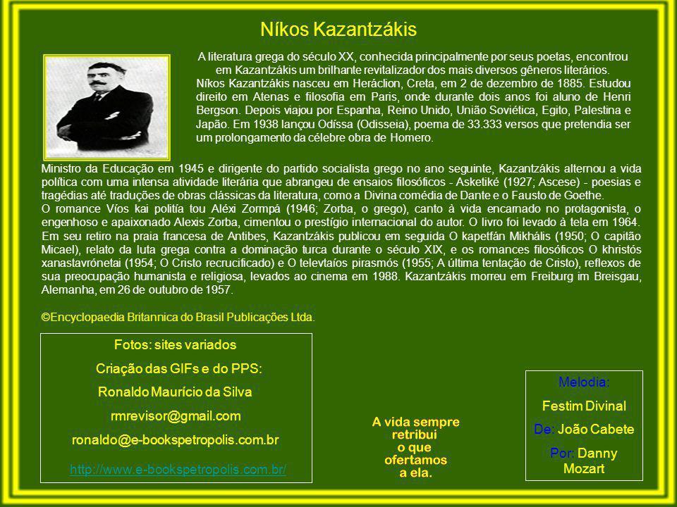 Níkos Kazantzákis http://www.e-bookspetropolis.com.br/