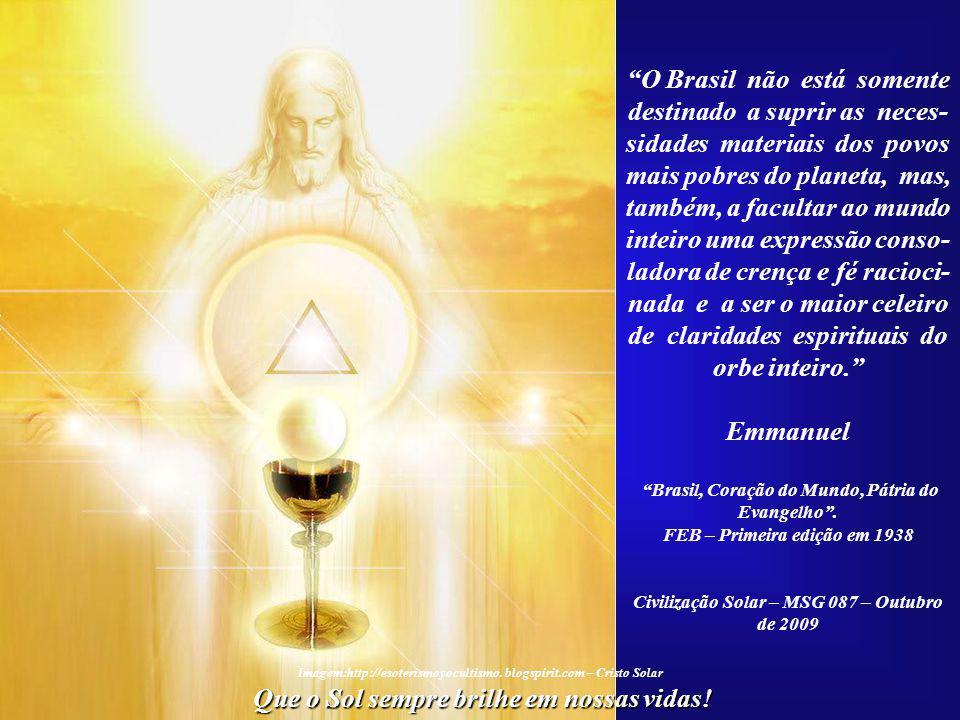 O Brasil não está somente