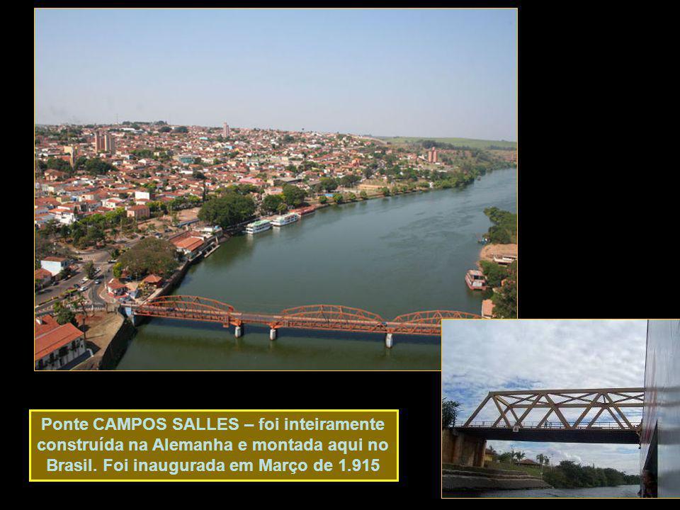 Ponte CAMPOS SALLES – foi inteiramente