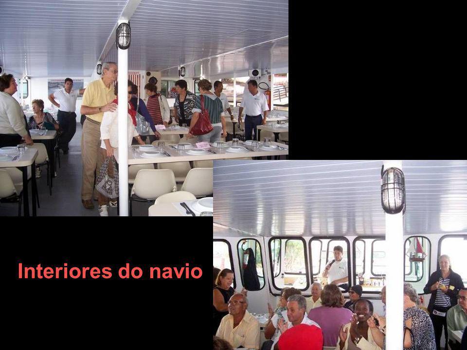 Interiores do navio