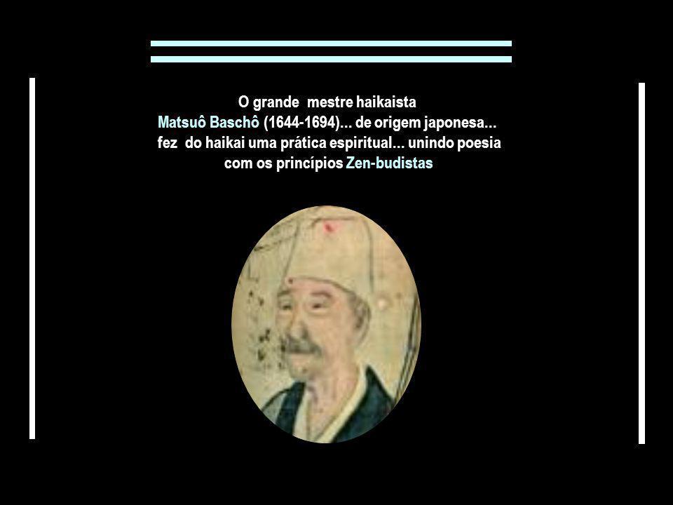 O grande mestre haikaista