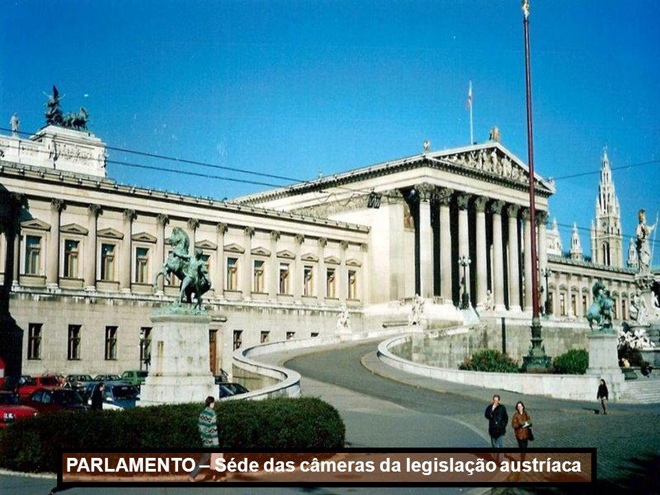 PARLAMENTO – Séde das câmeras da legislação austríaca
