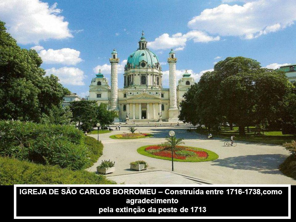 IGREJA DE SÃO CARLOS BORROMEU – Construída entre 1716-1738,como
