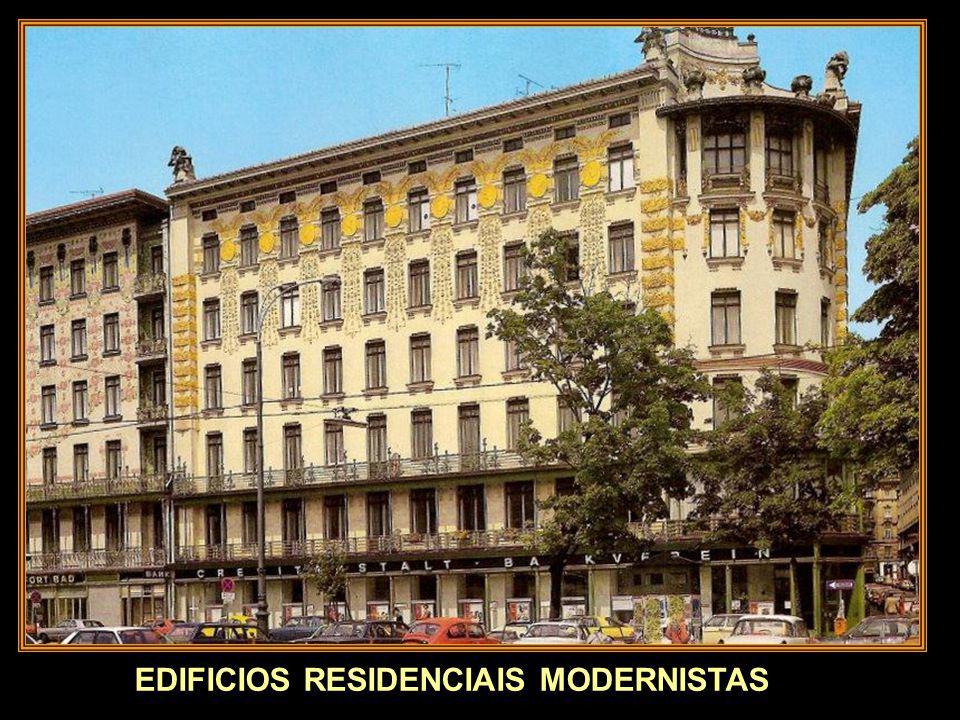 EDIFICIOS RESIDENCIAIS MODERNISTAS