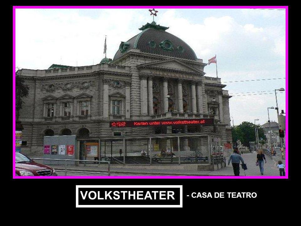 VOLKSTHEATER - CASA DE TEATRO