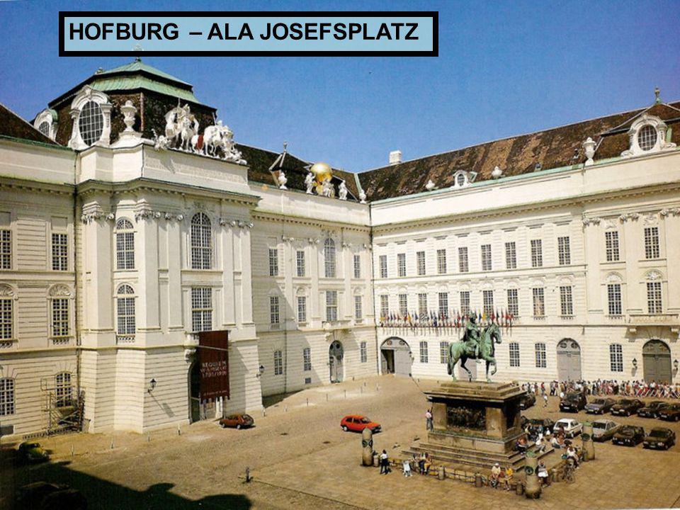 HOFBURG – ALA JOSEFSPLATZ