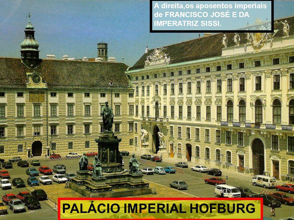 PALÁCIO IMPERIAL HOFBURG