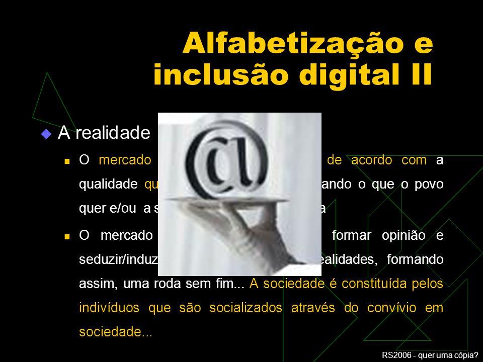 Alfabetização e inclusão digital II