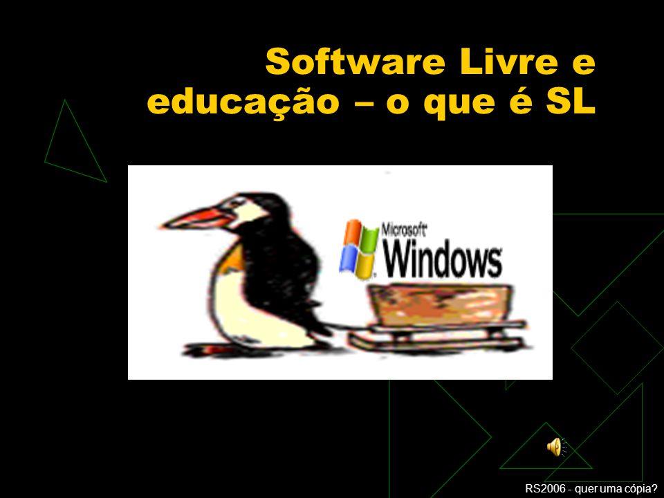 Software Livre e educação – o que é SL