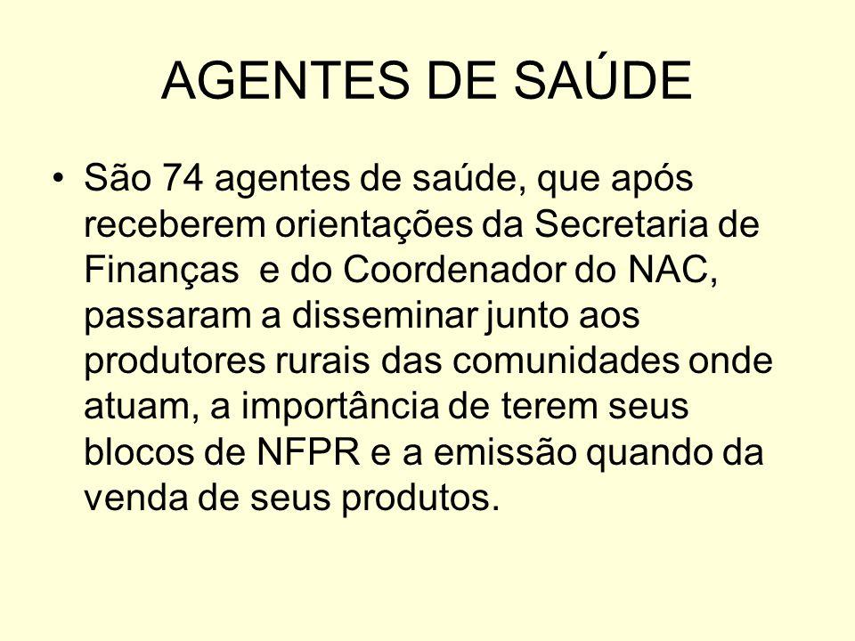 AGENTES DE SAÚDE