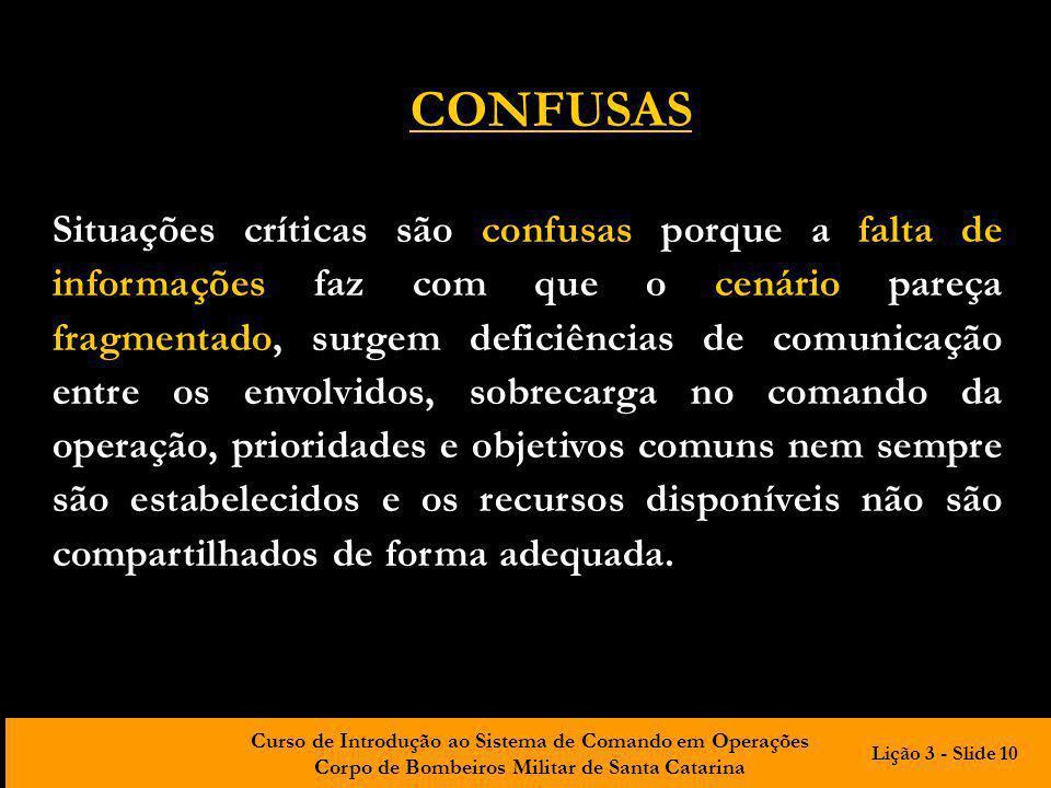 CONFUSAS