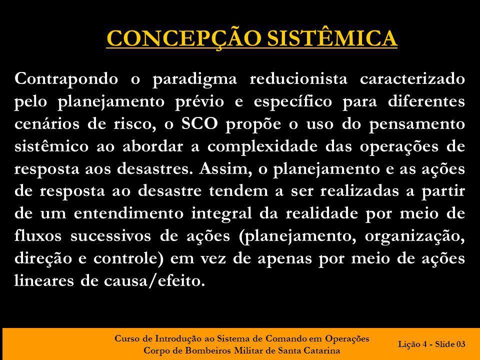 CONCEPÇÃO SISTÊMICA