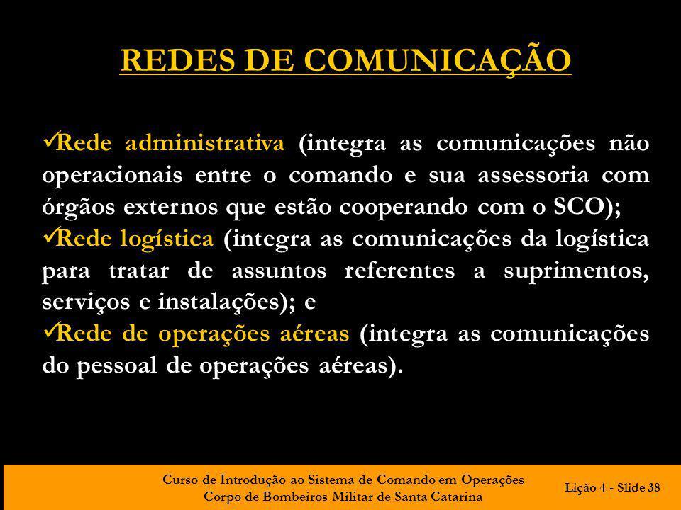 REDES DE COMUNICAÇÃO
