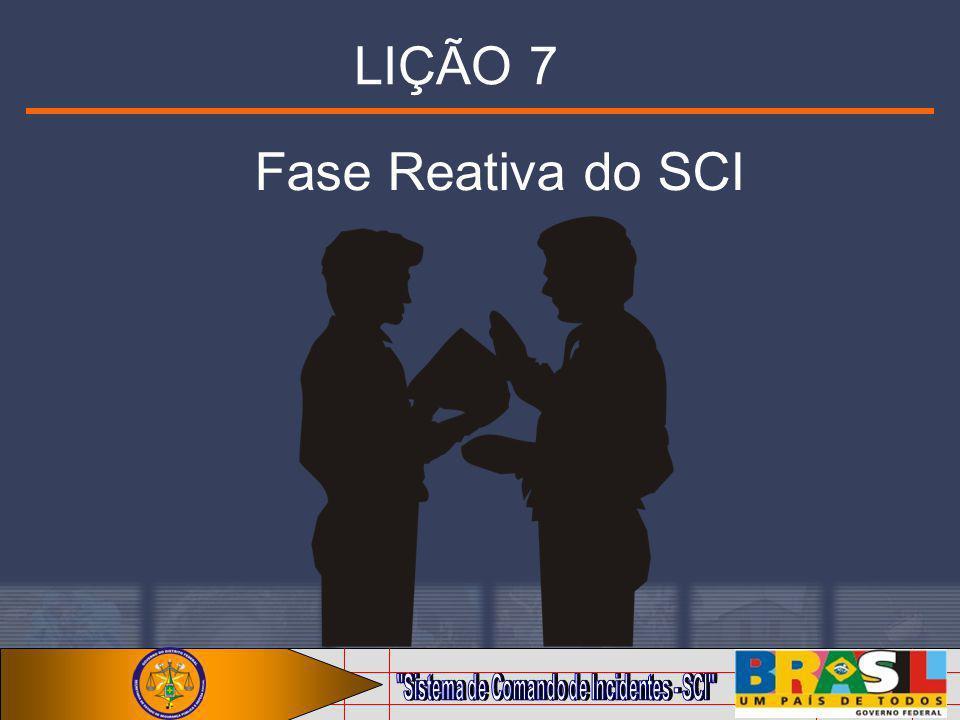 LIÇÃO 7 Fase Reativa do SCI