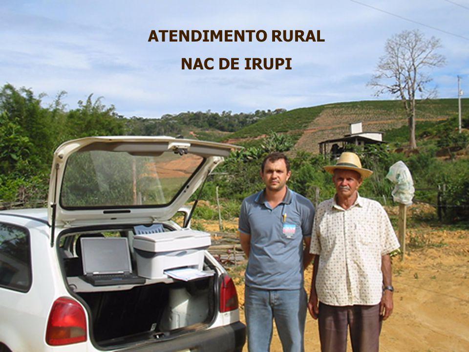 ATENDIMENTO RURAL NAC DE IRUPI