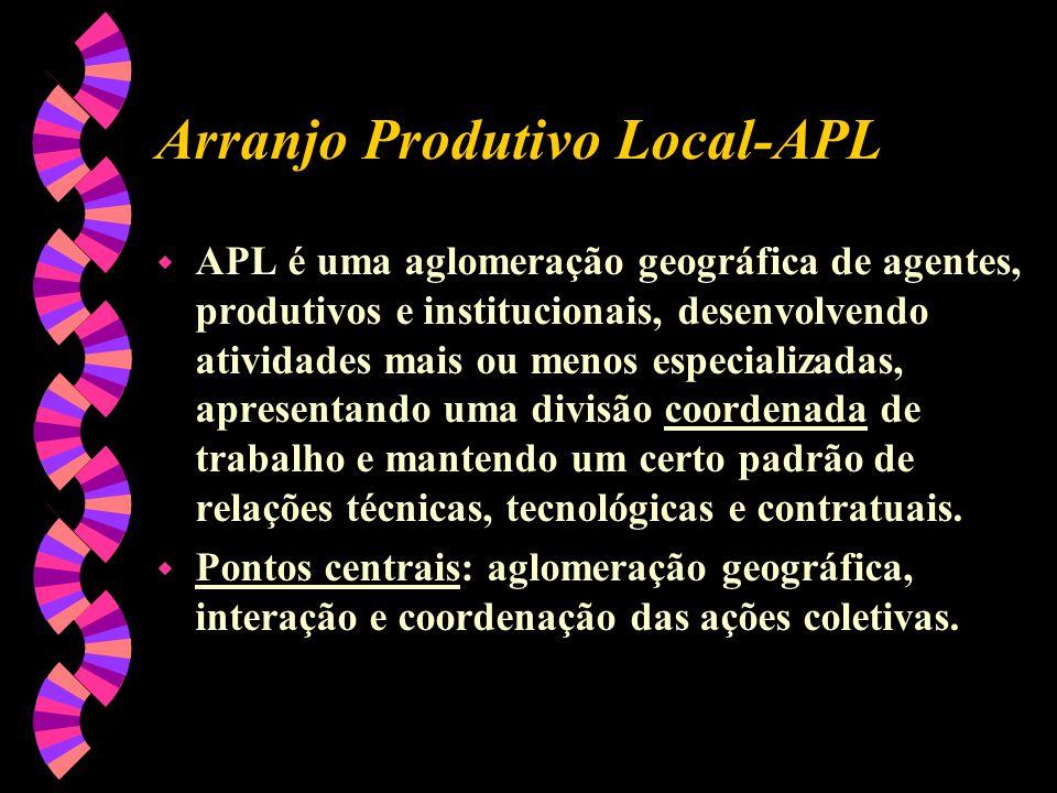 Arranjo Produtivo Local-APL