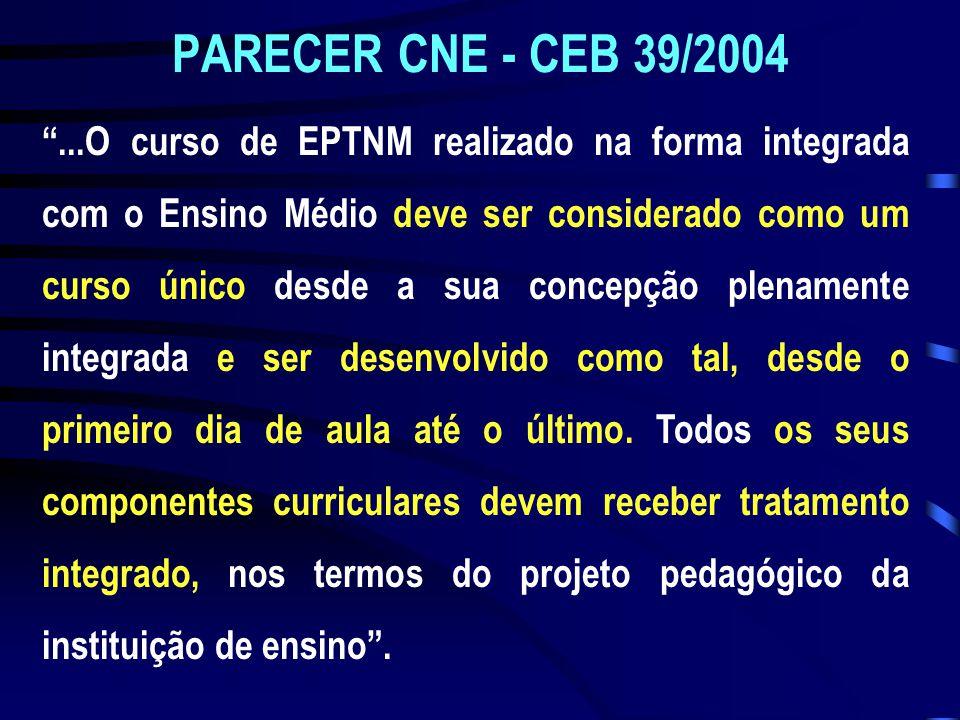 PARECER CNE - CEB 39/2004