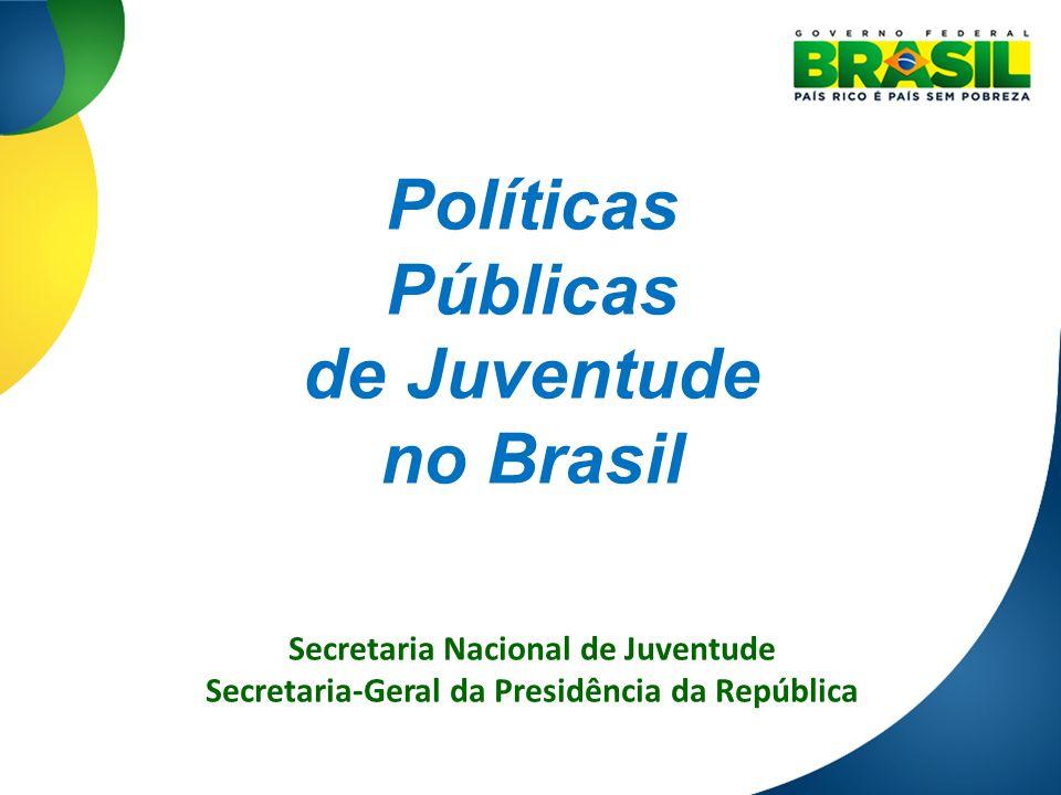 Políticas Públicas de Juventude no Brasil
