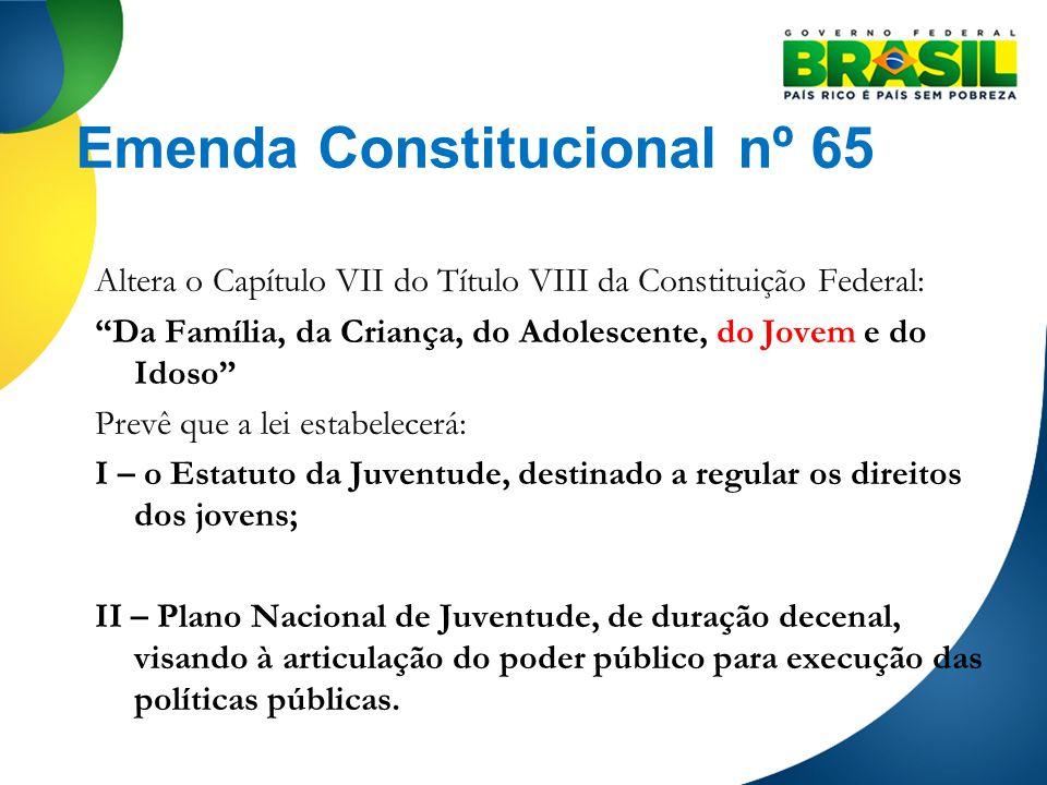 Emenda Constitucional nº 65