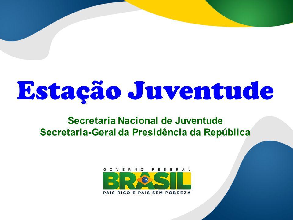 Estação Juventude Secretaria Nacional de Juventude