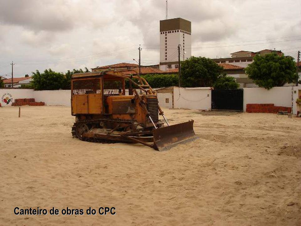 Canteiro de obras do CPC