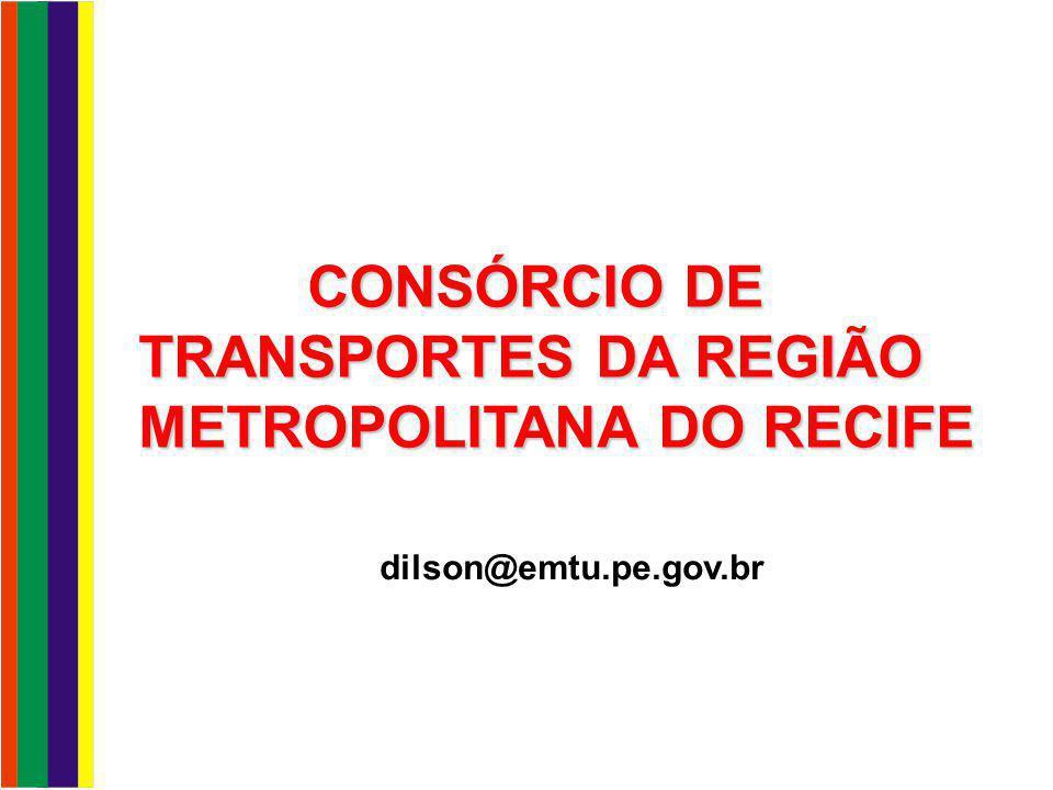 CONSÓRCIO DE TRANSPORTES DA REGIÃO METROPOLITANA DO RECIFE