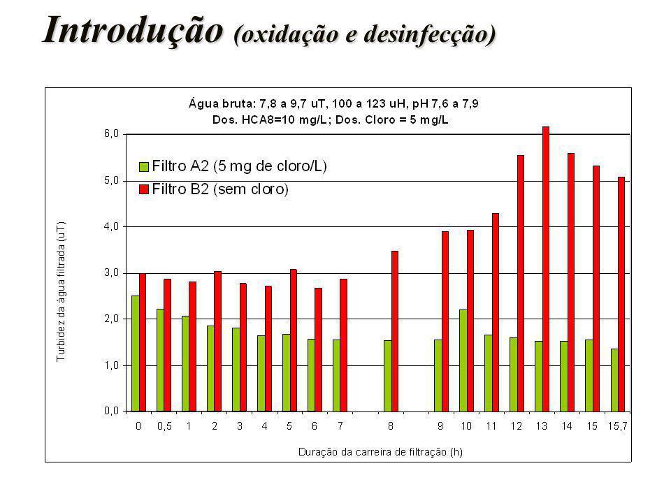 Introdução (oxidação e desinfecção)