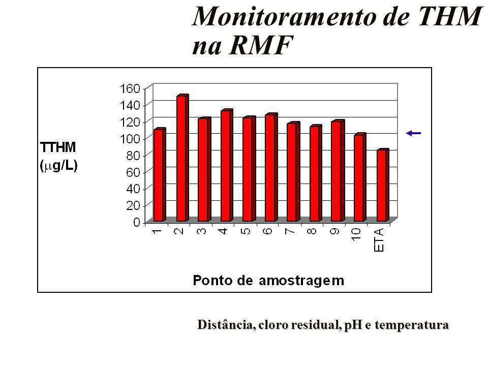 Monitoramento de THM na RMF