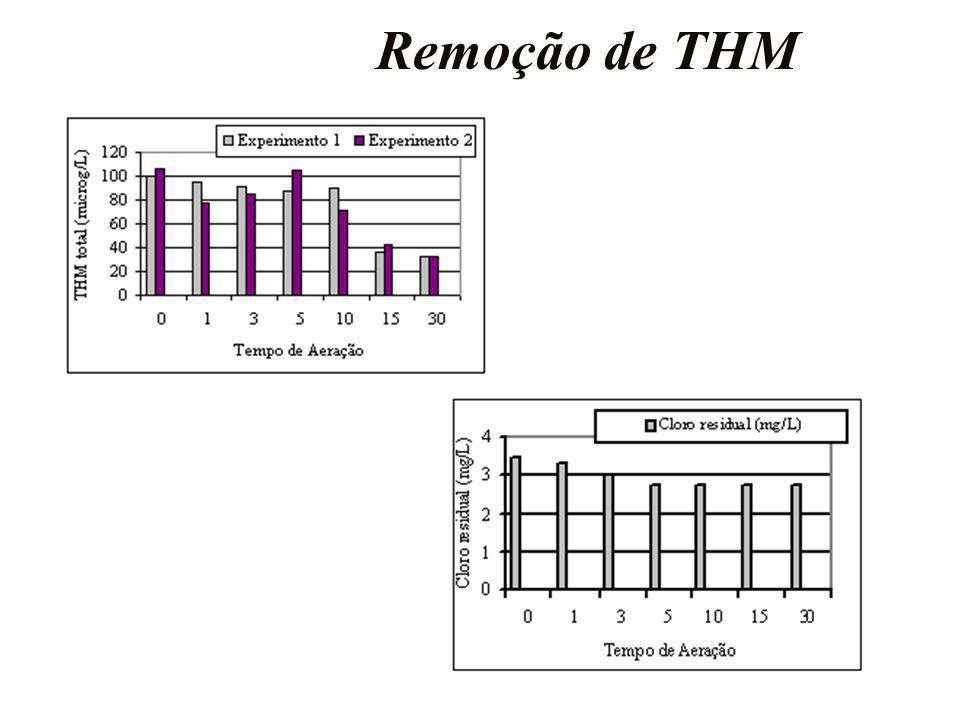 Remoção de THM