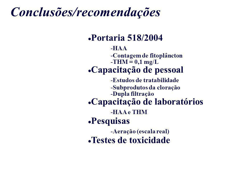 Conclusões/recomendações