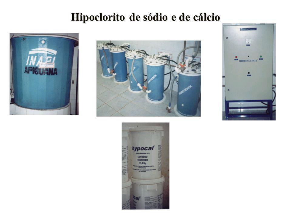 Hipoclorito de sódio e de cálcio