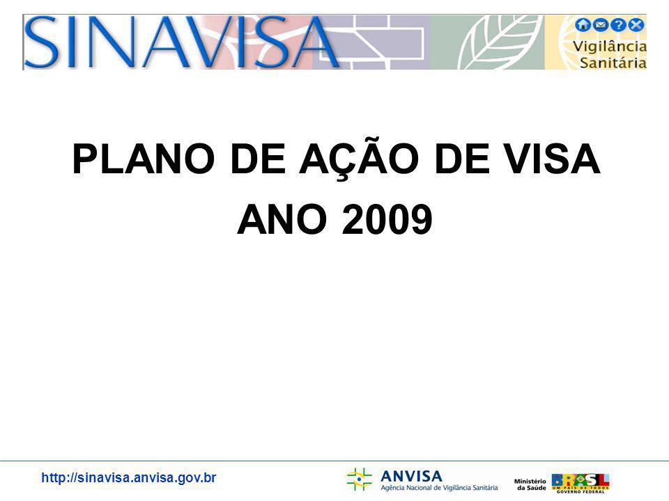 PLANO DE AÇÃO DE VISA ANO 2009