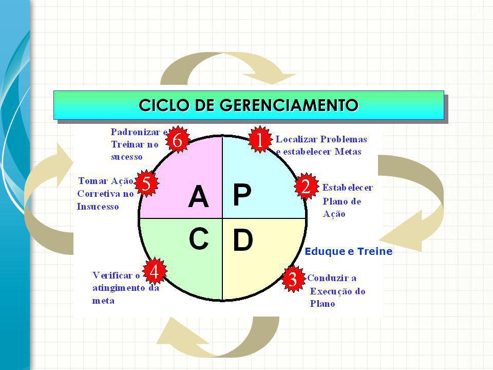 CICLO DE GERENCIAMENTO