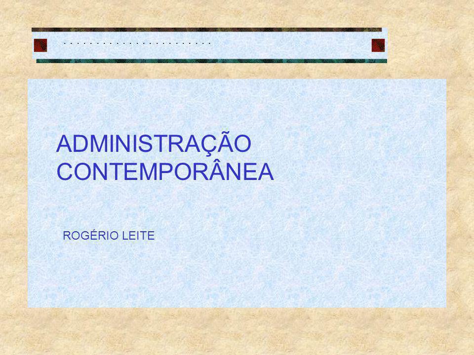 ADMINISTRAÇÃO CONTEMPORÂNEA